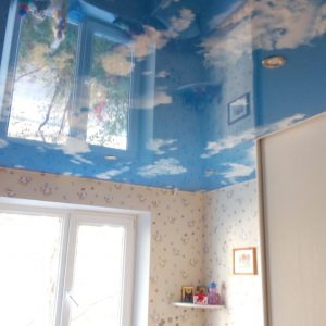 Натяжные потолки с фотопечатью в Минске и Минской области