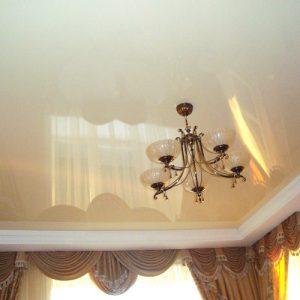 Натяжные потолки с нишей под скрытый карниз в Минске и Минской области