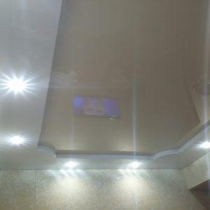 Многоуровневые натяжные потолки в Минске