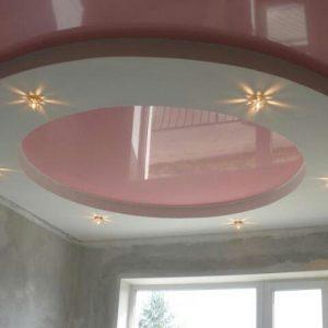 Многоуровневые натяжные потолки в Минске и Минской области