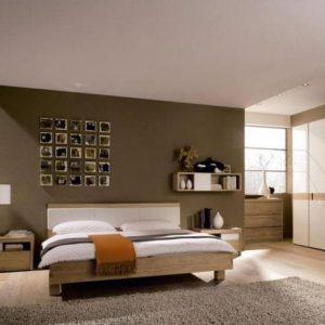 Матовые натяжные потолки в спальне