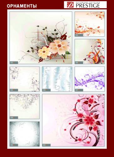 изображений для фотопечати на натяжном потолке - орнаменты №2