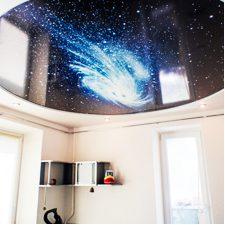 Натяжной потолок с фотопечатью в Минске и Беларуси в подарок