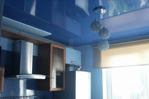 Натяжной потолок на кухню в Минске и Минской области